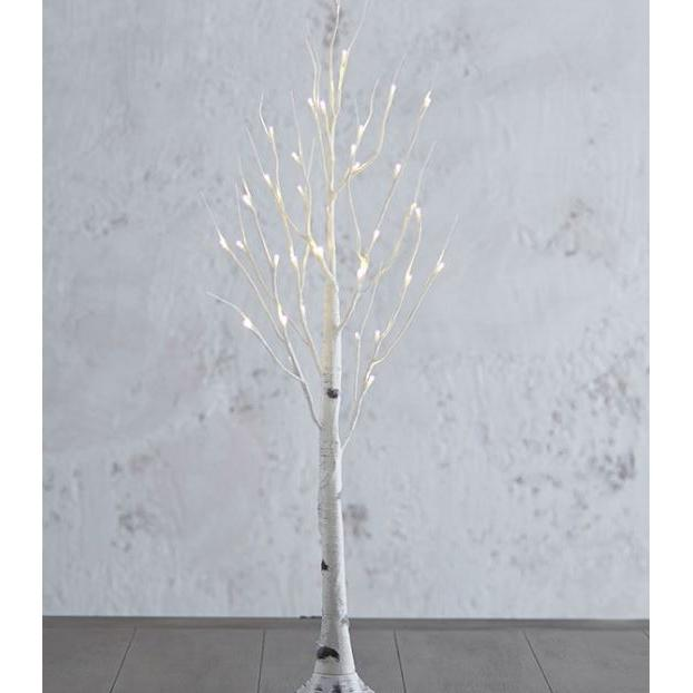 Lighted Birch Tree 36in Warm White