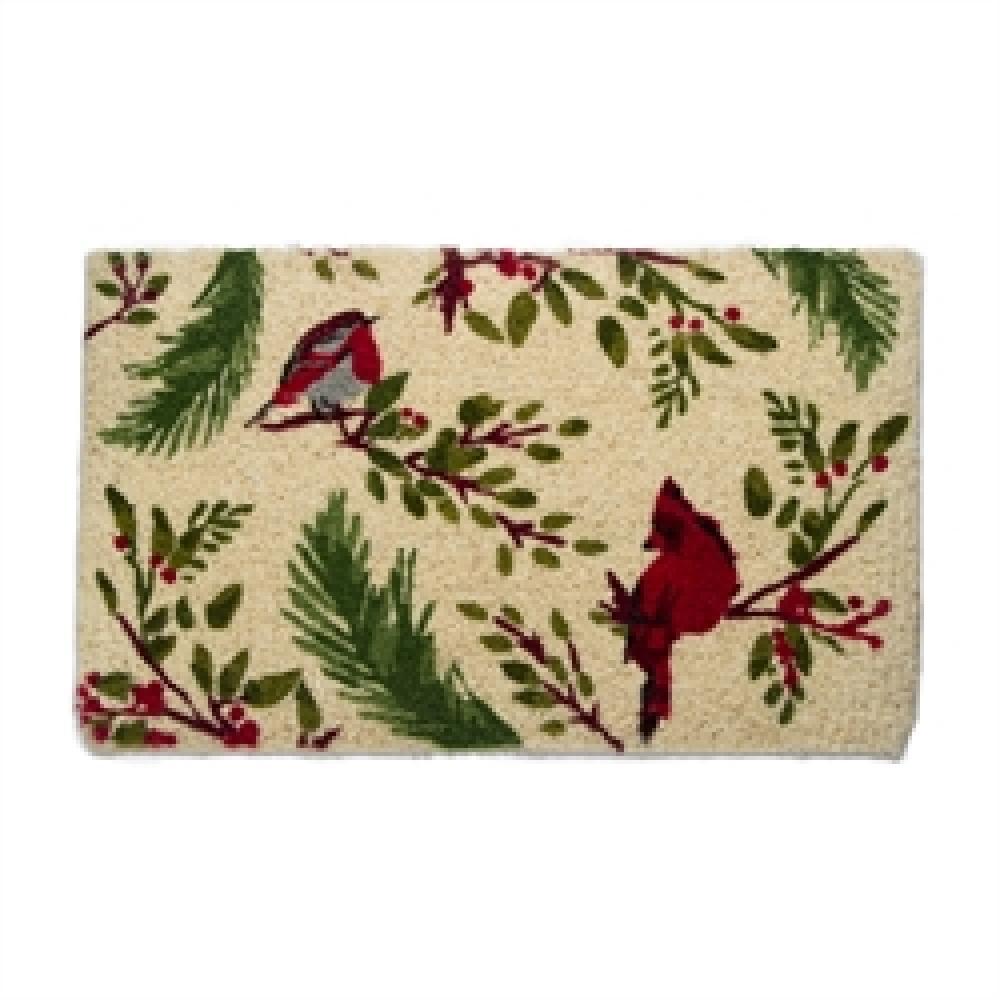 Doormat Coir Multi Birds And Berries