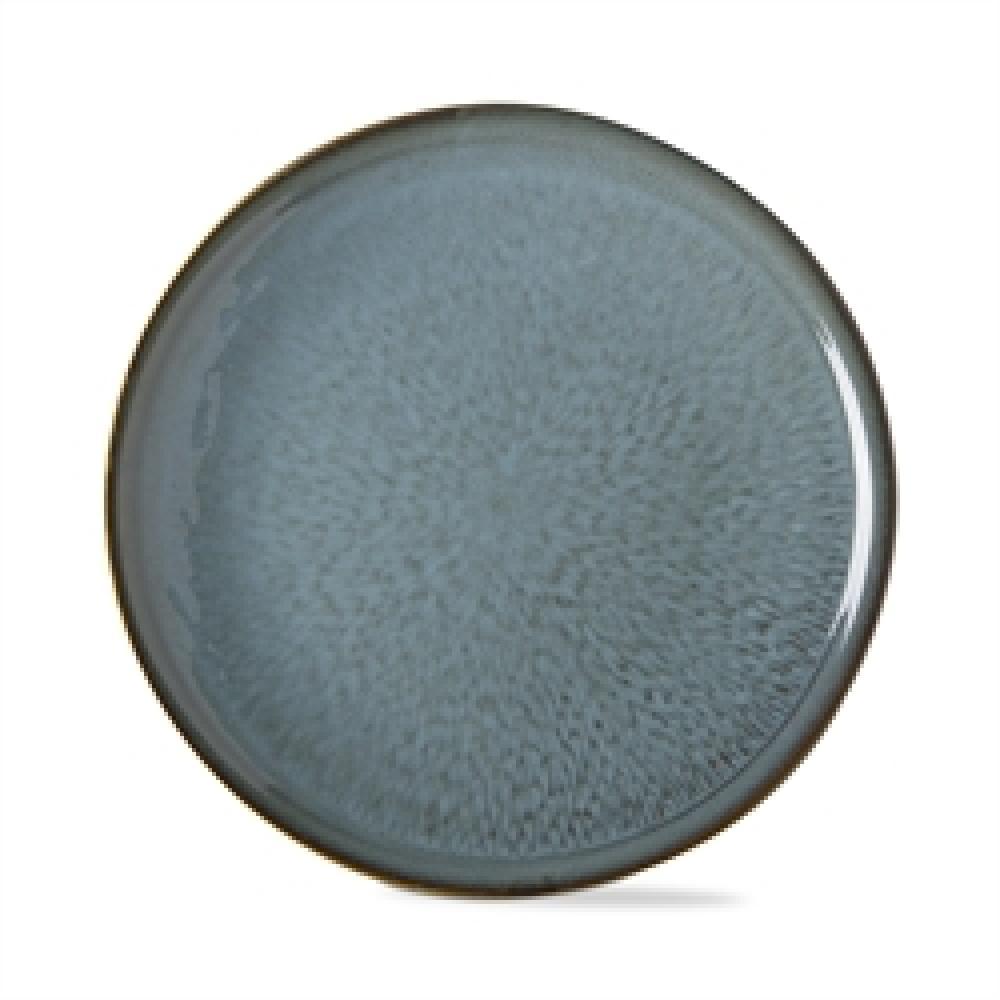 Dinnerware Turquoise Soho Reactive Glaze Plate