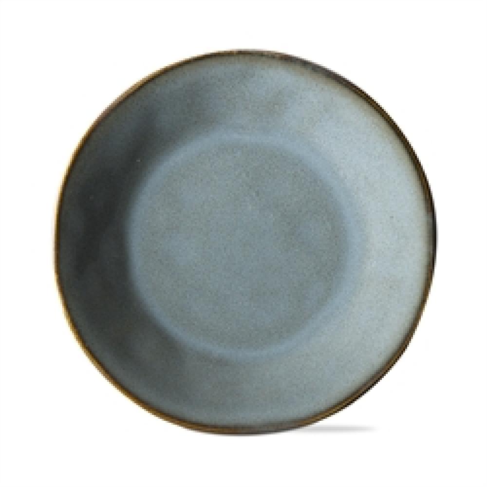 Dinnerware Turquoise Soho Reactive Glaze Appetizer Plate
