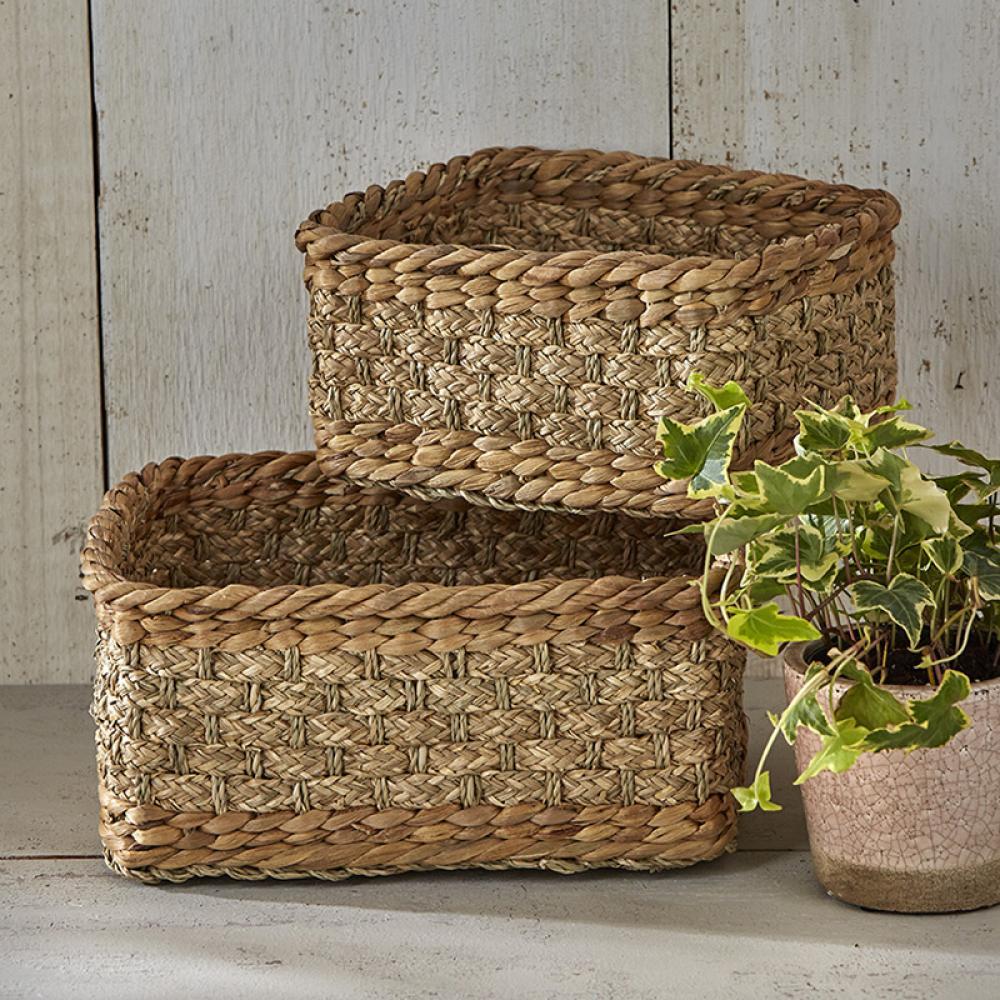 Basket Natural Naples Set of 2