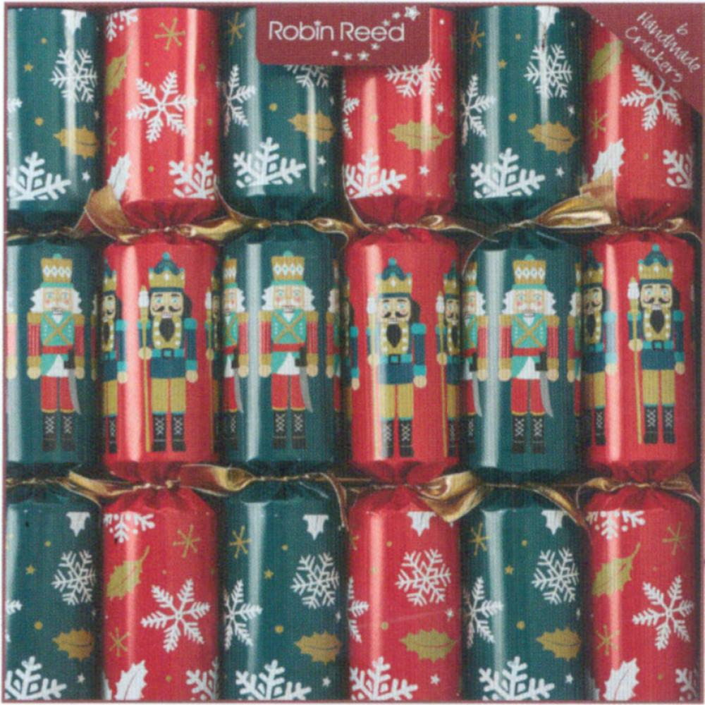 Christmas Crackers Racing Nutcracker Box of 6