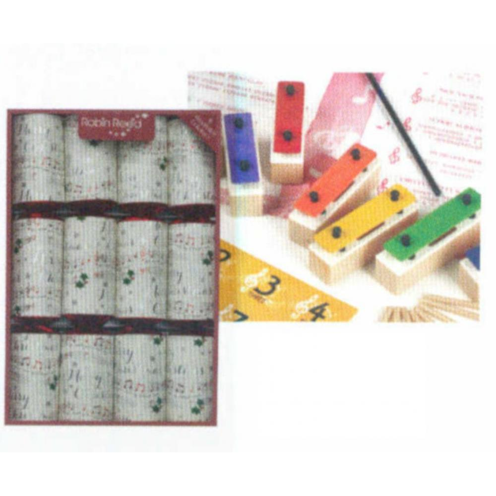 Christmas Crackers Chime Bars  Box Of 8