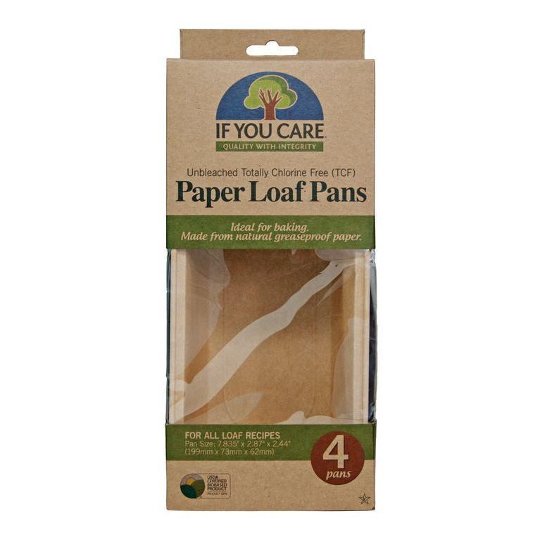 Loaf Baking Pans 4 Count