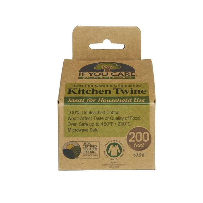Certified Organic Unbleached Kitchen Twine 200ft