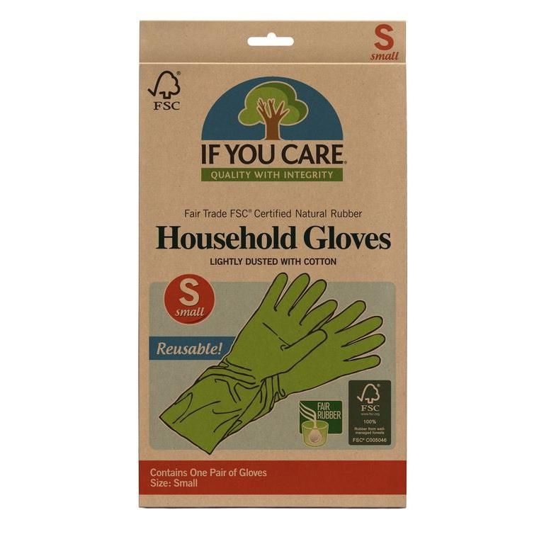 Fsc Certified Fair Trade Latex Household Gloves Small