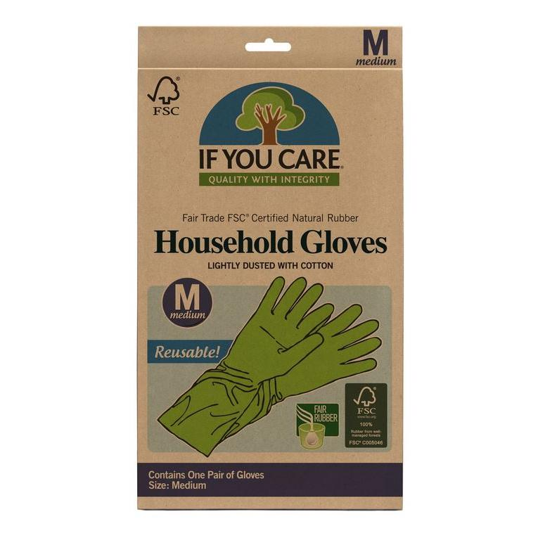 Fsc Cerified Fair Trade Latex Household Gloves Medium