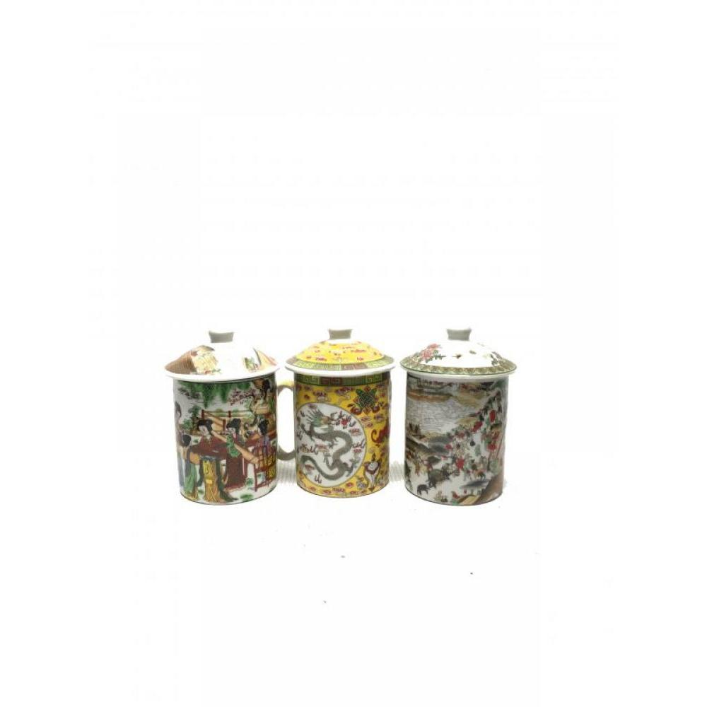 Tea Cup With Diffuser Assorted Styles