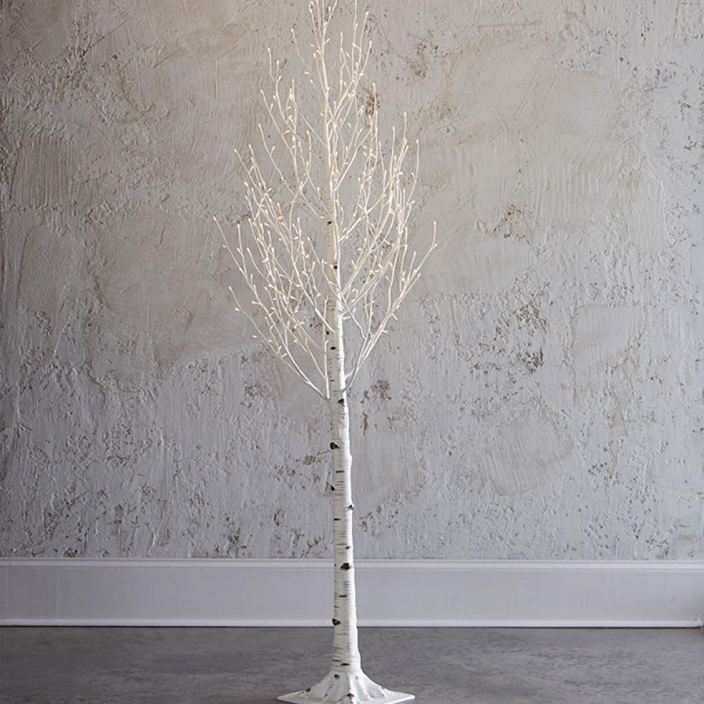 Lighted Birch Tree 7ft Warm White