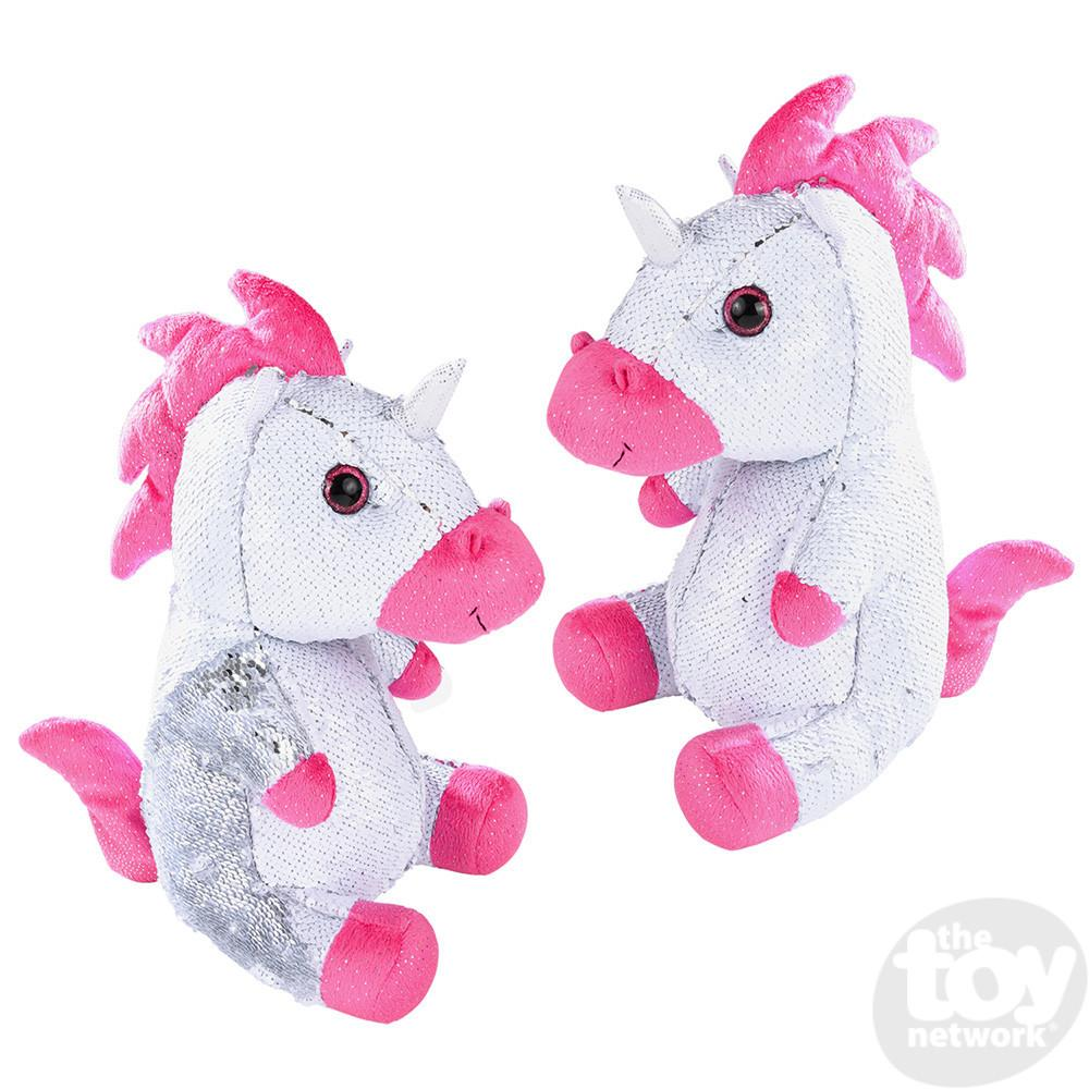 Sequinimals Stuffed Animals Unicorn 18in