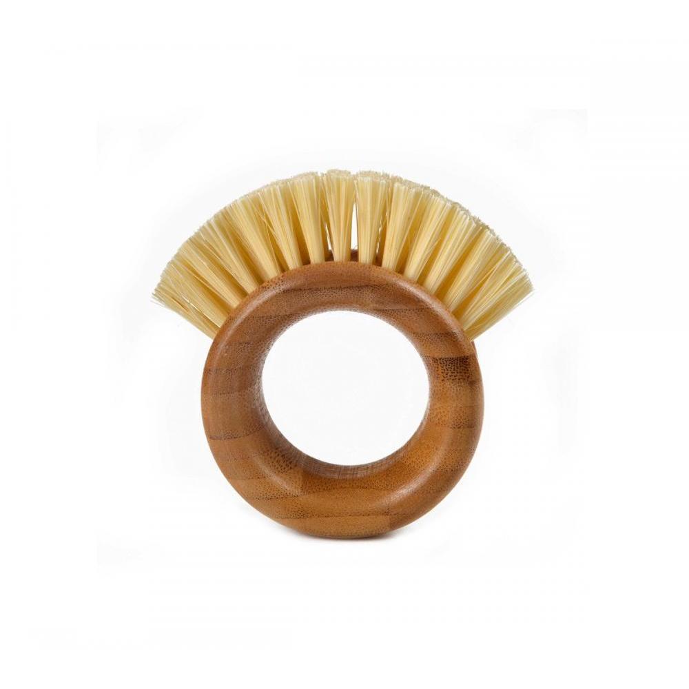 The Ring Veggie Brush - Bamboo