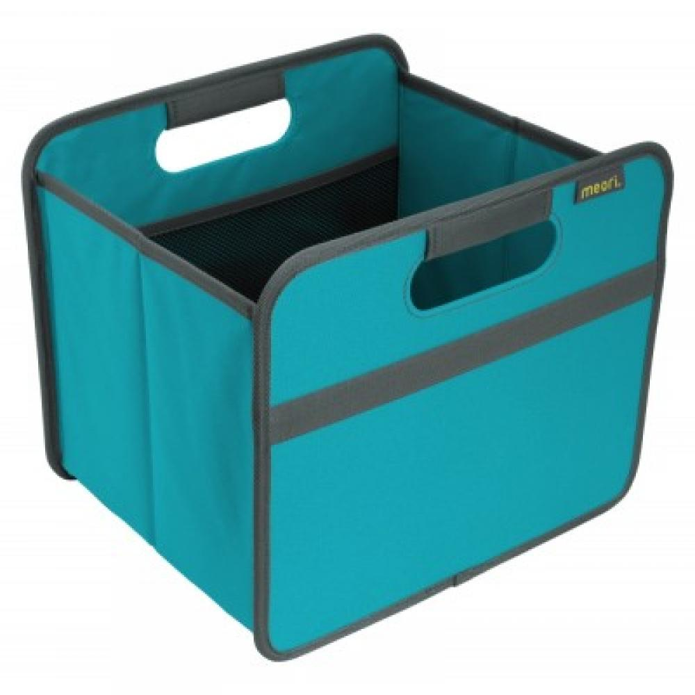 Foldable Box Classic Small Azure Blue Solid