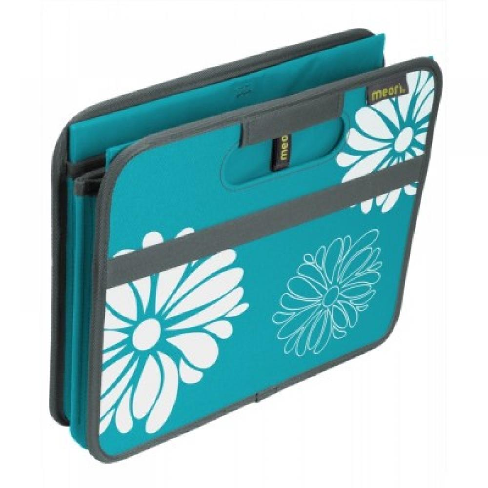 Foldable Box Classic Small Azure Blue Flowers