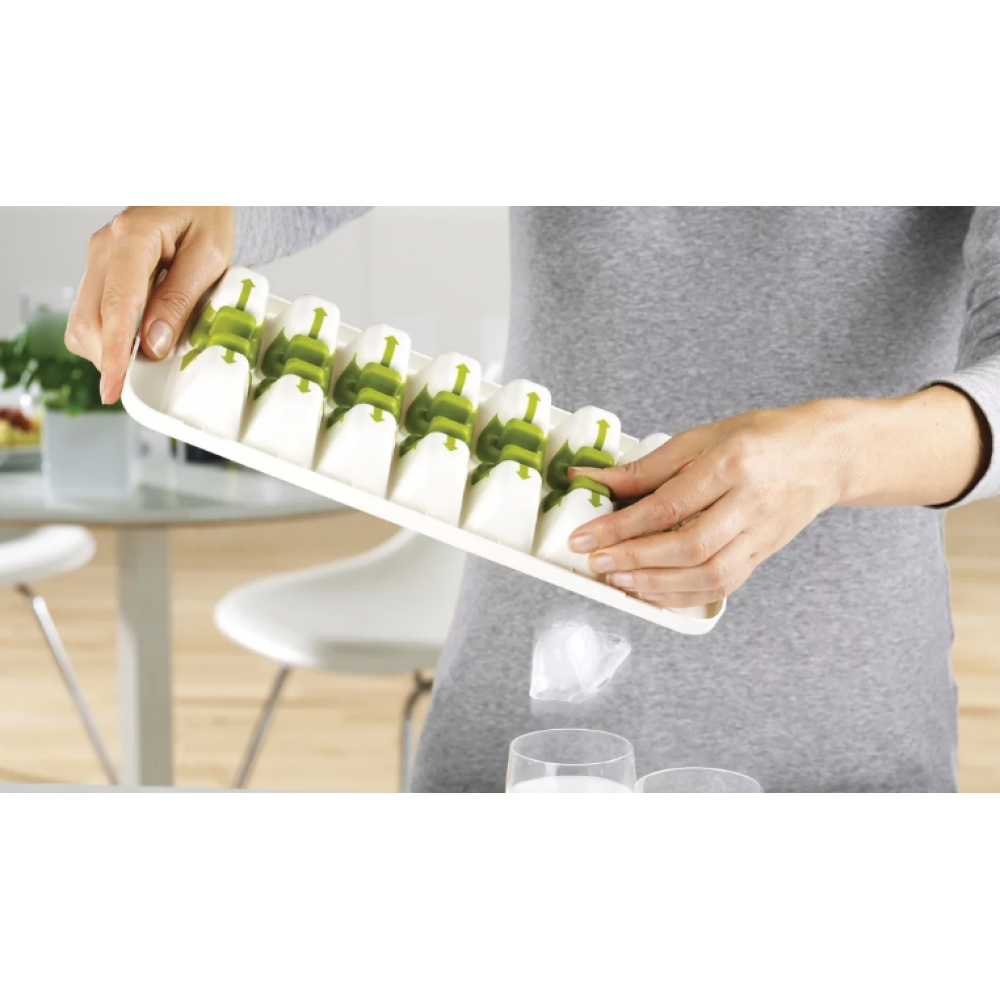 Quick Snap Plus - Easy Release Ice Cube Tray With Lid