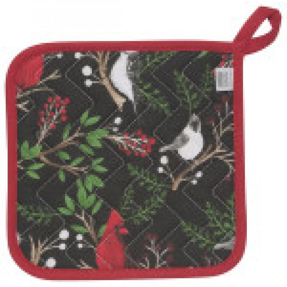 Seasonal Holiday - Potholder - Winter Birds