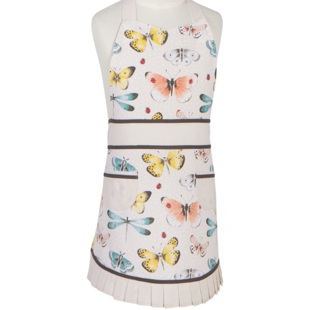 Apron Child Size Fly Away Butterflies