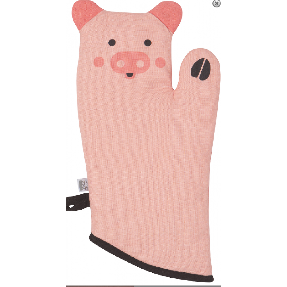 Oven Mitt Critter Penny Pig