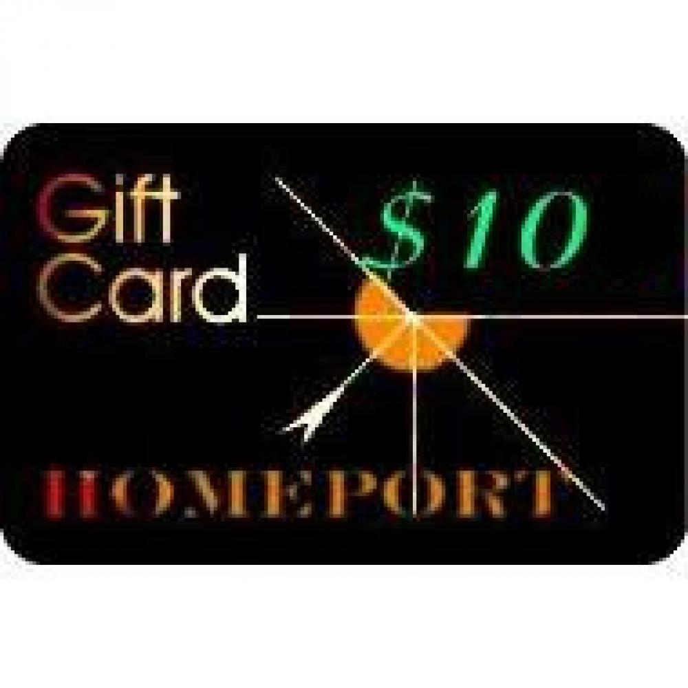 10 Dollar Gift Card (No Tax)
