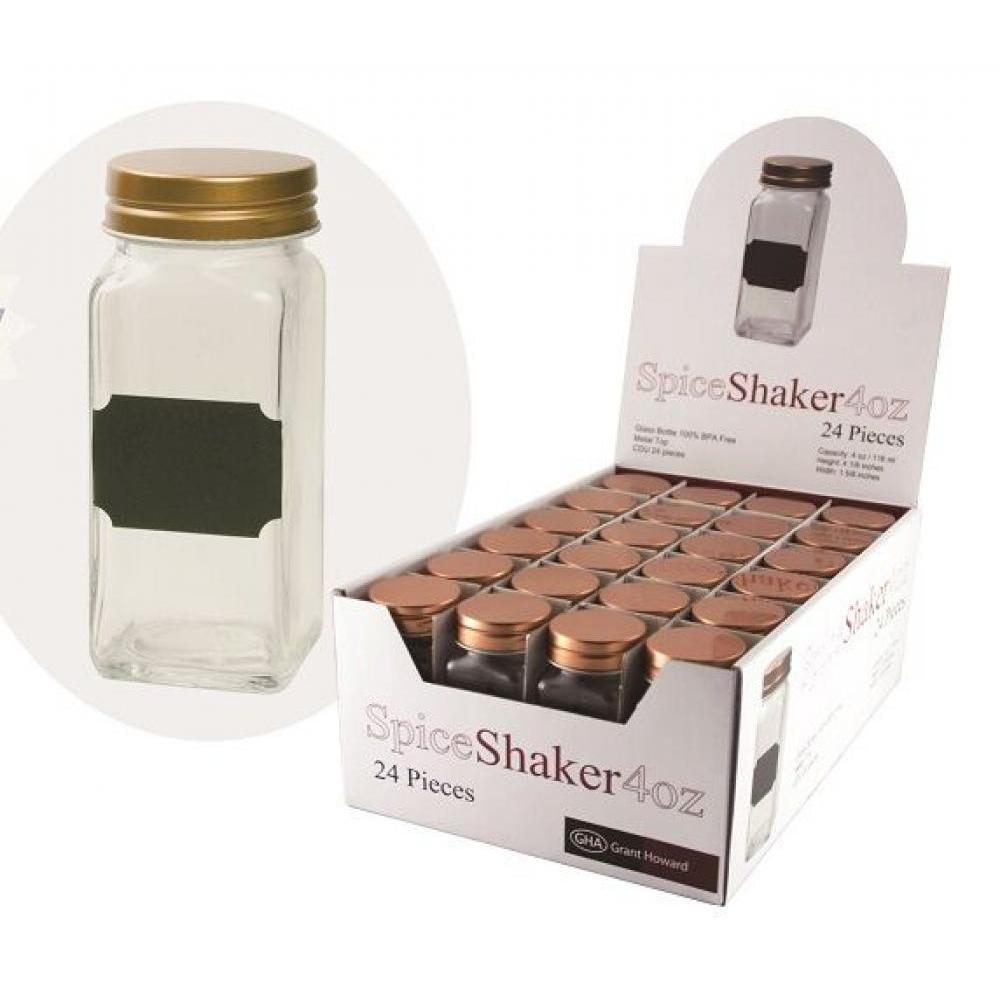 Spice Bottle with Sifter 4oz