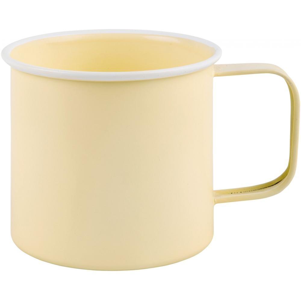 Mug - Yellow Enamel