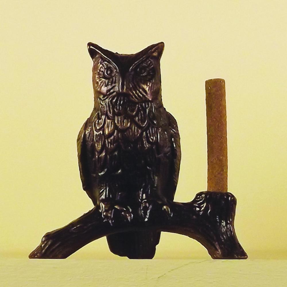 Incense Burner Brass Owl