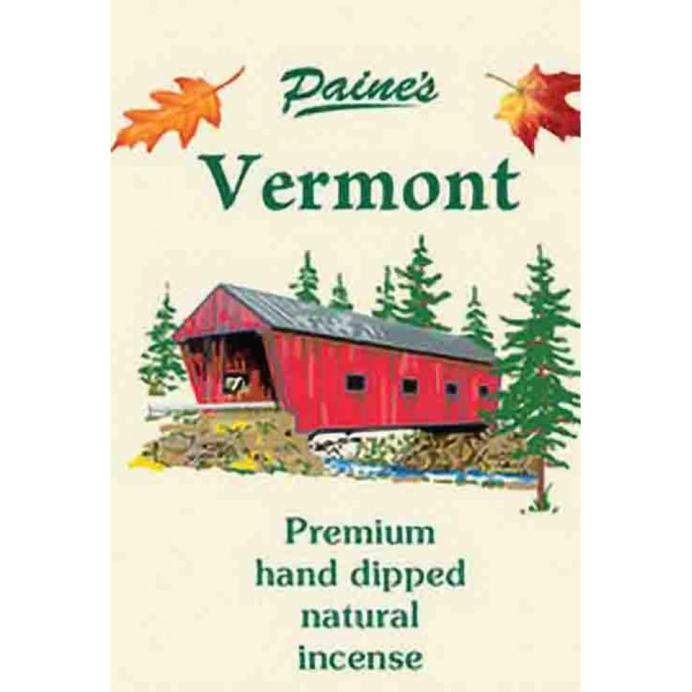 Incense Sticks Hand-Dipped Natural 20-pack - Vermont