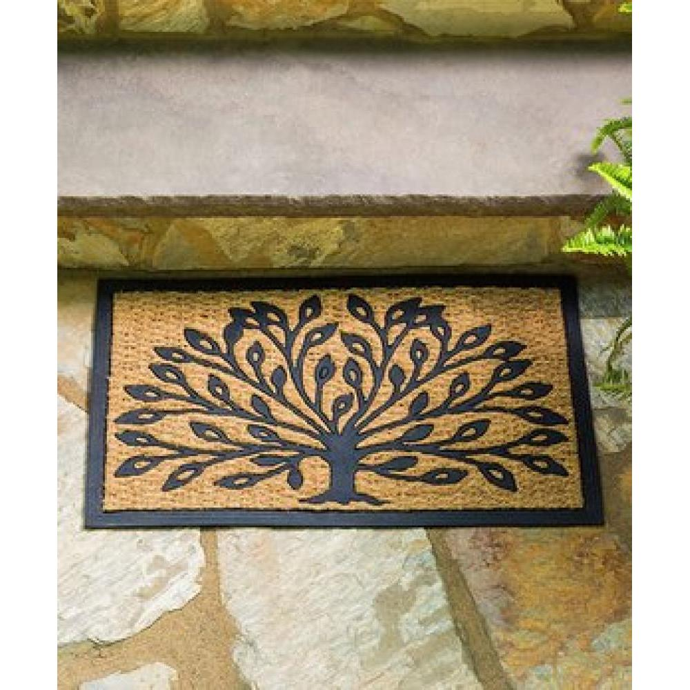 Doormat Coir and Rubber Tree Of Life