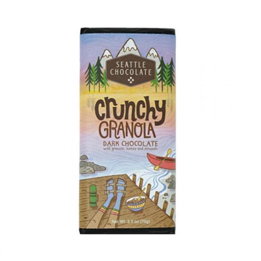 Chocolate Bar - Crunchy Granola (Gluten Free)