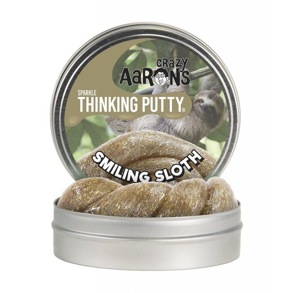 Thinking Putty 4in Novelty Smiling Sloth