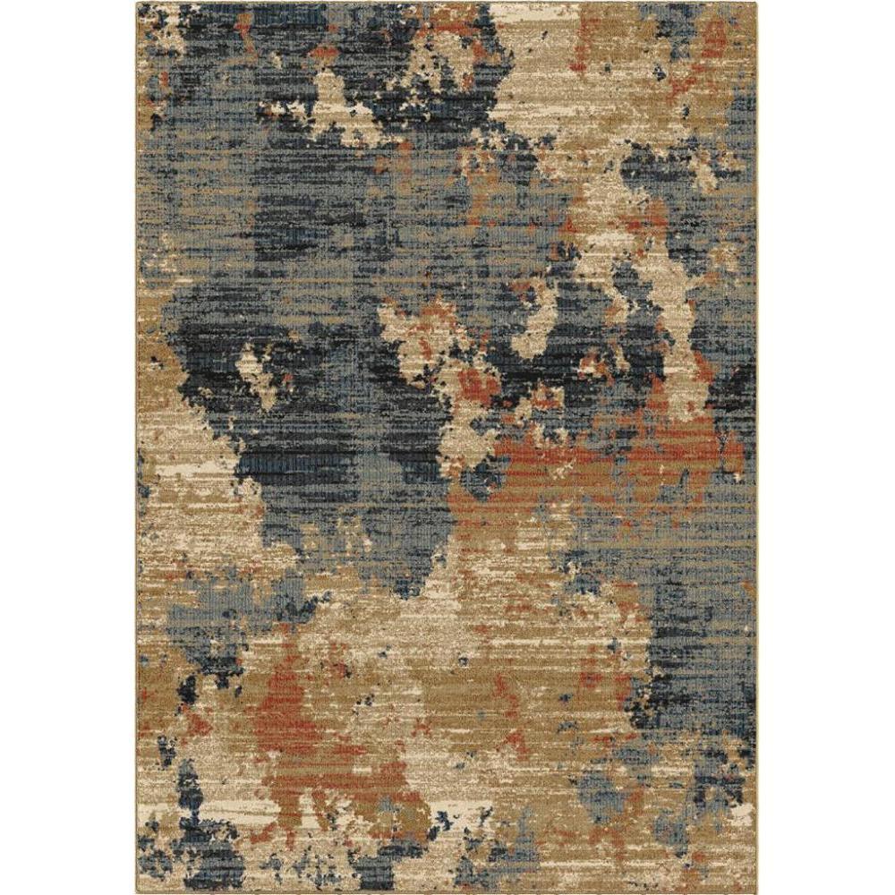 Adagio Collection High Plains Blue 5.3 x 7.6 Rug
