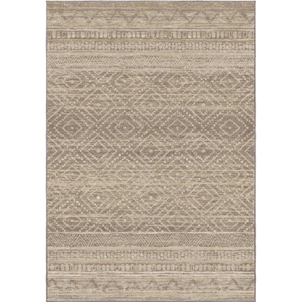 Adagio Collection Coastal Pier Silverton 5.3 x 7.6 Rug