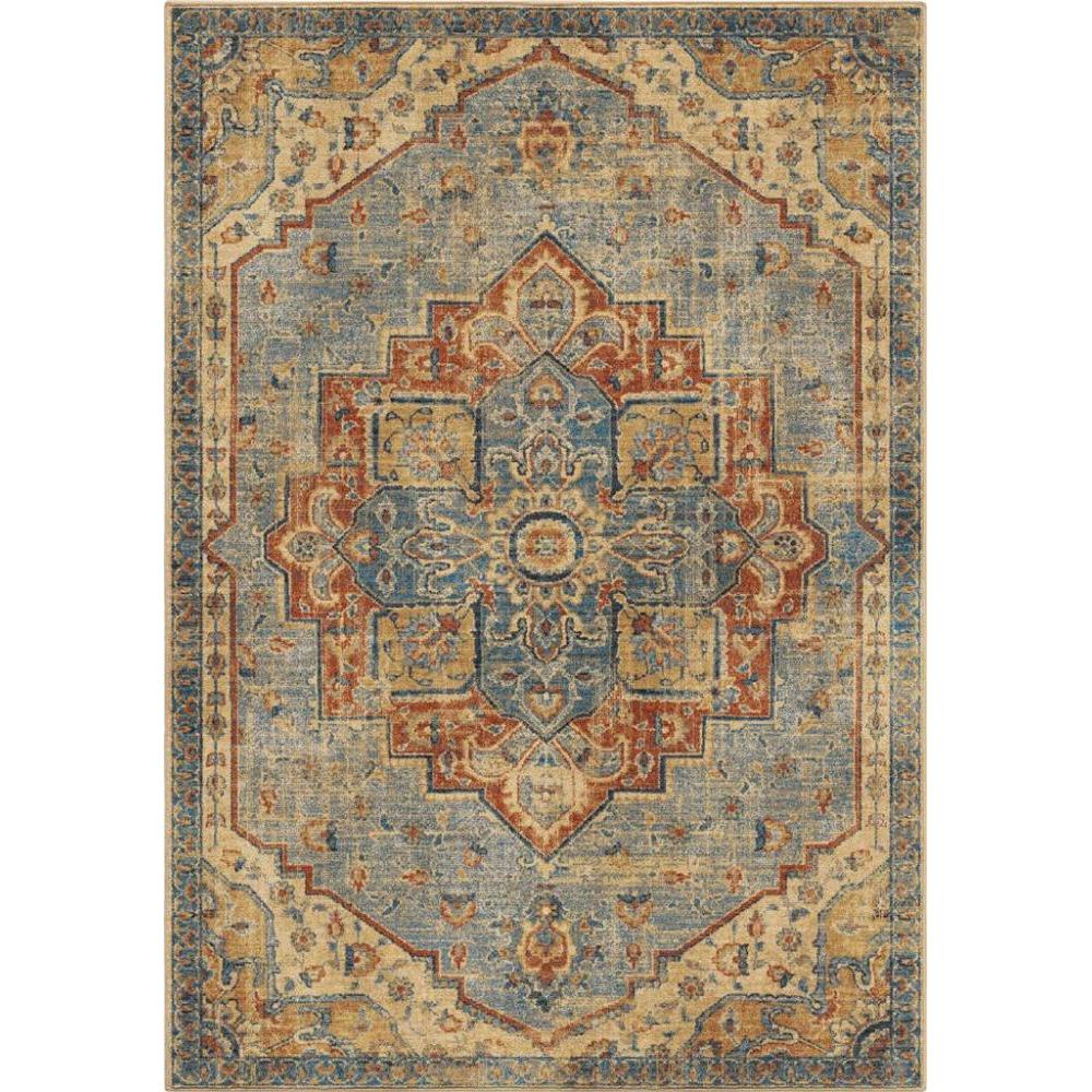 Alexandria King Fisher Pale Blue 8x11 Rug (Store Sample)