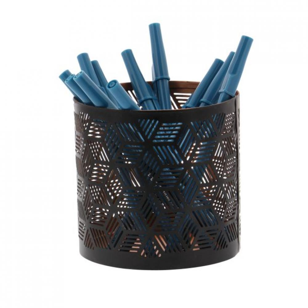 Pencil Holder Black 4x4