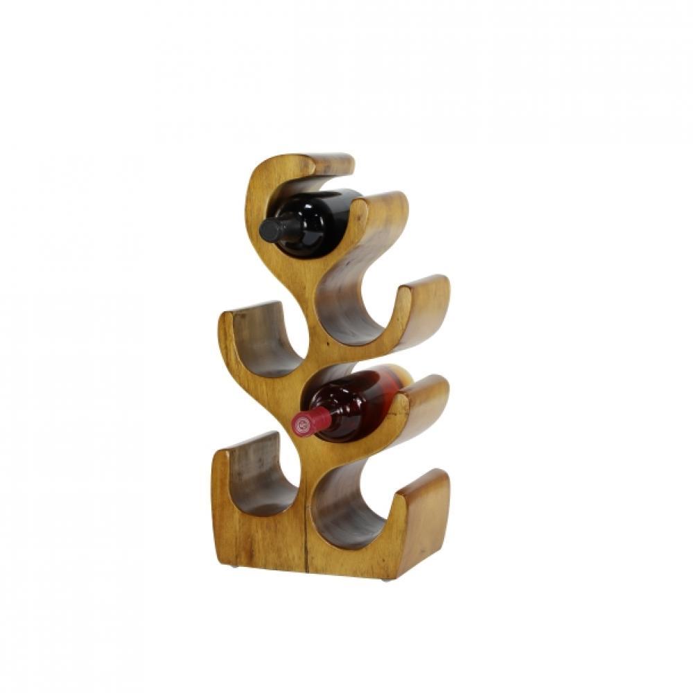 Wine Rack Wooden 10w x 20h