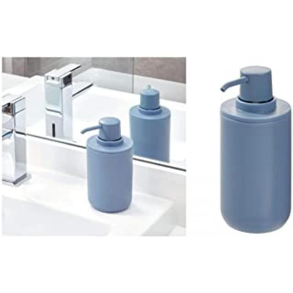 cade soap pump matte dusty blue