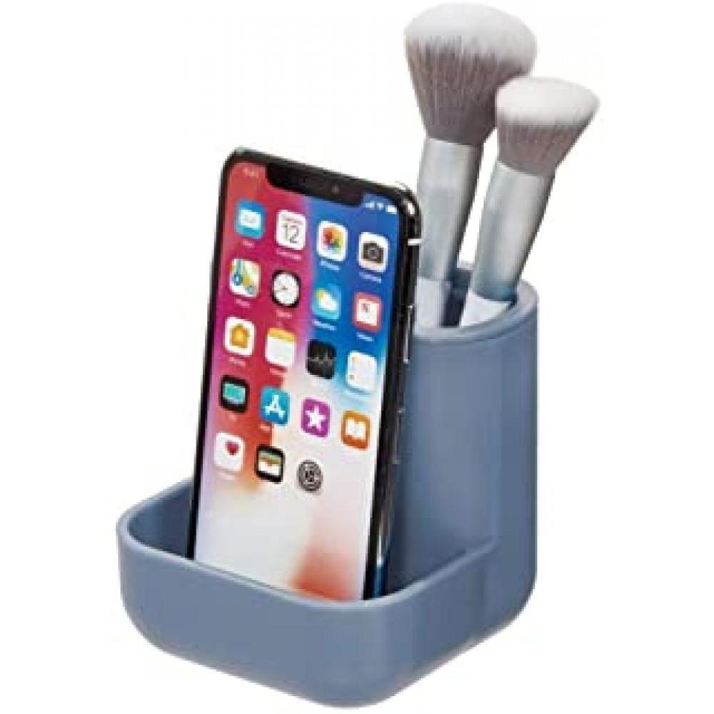 cade vanity center matte dusty blue