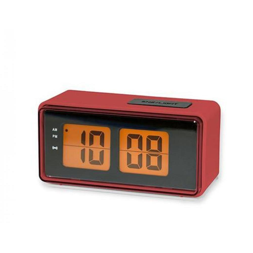 Digital Flip Clock - Red