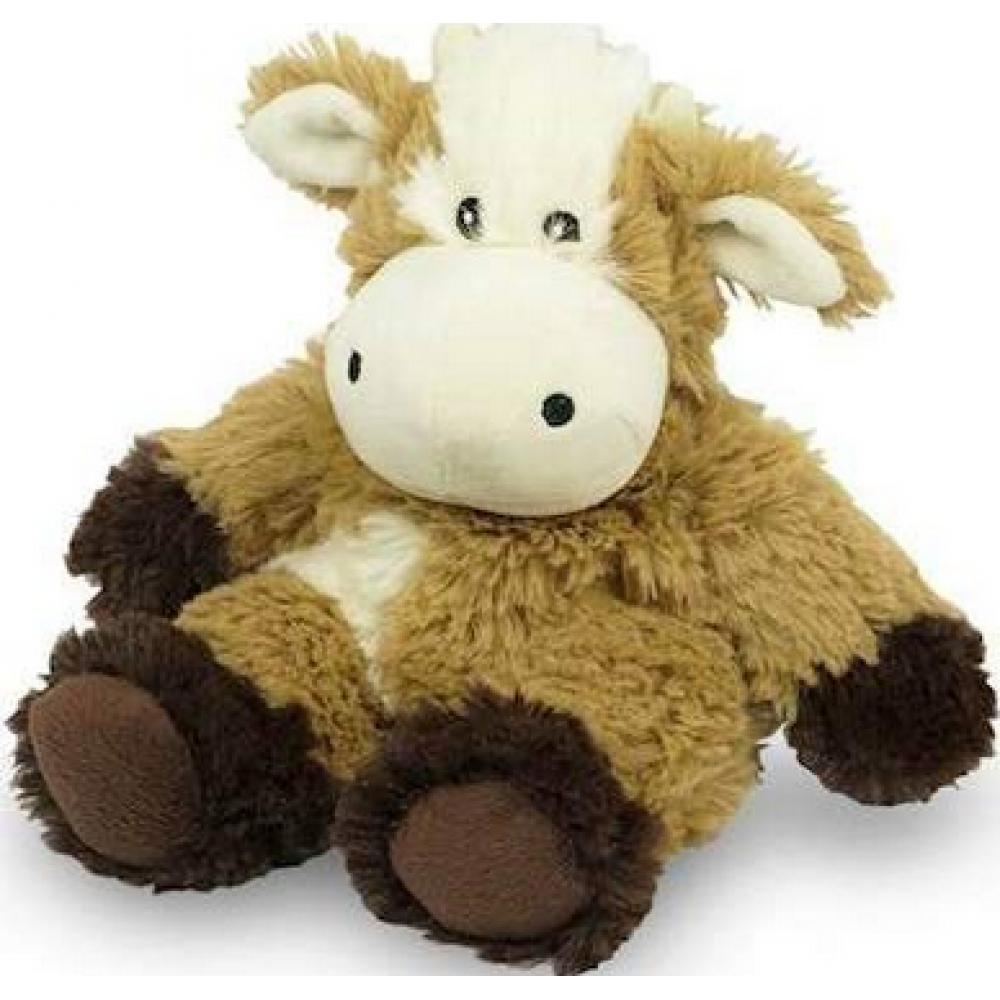 Warmies Junior Heatable Stuffed Animal Cow 9in