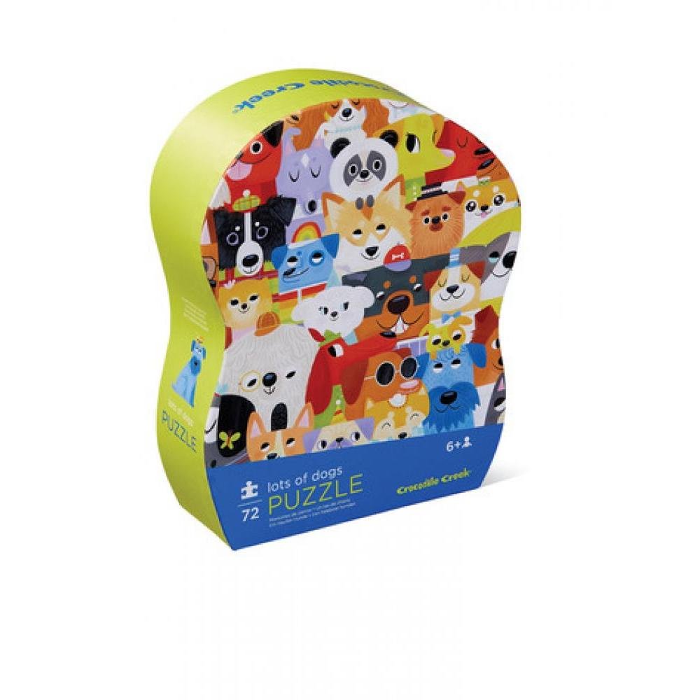 Puzzle 72 Piece Junior Lots of Dogs