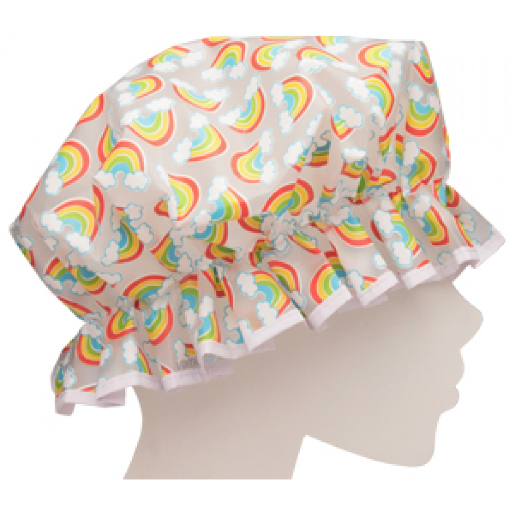 Shower Cap Rainbow