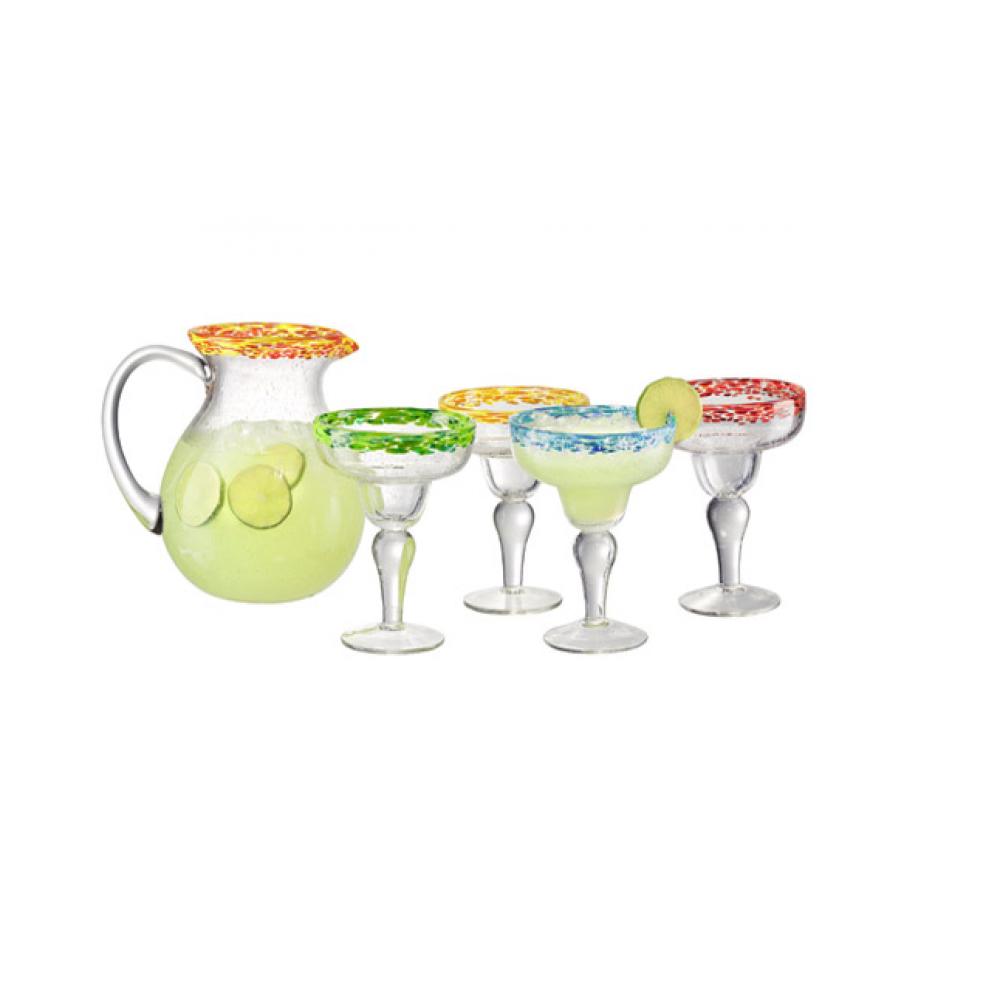 5 pc Margarita set assort color