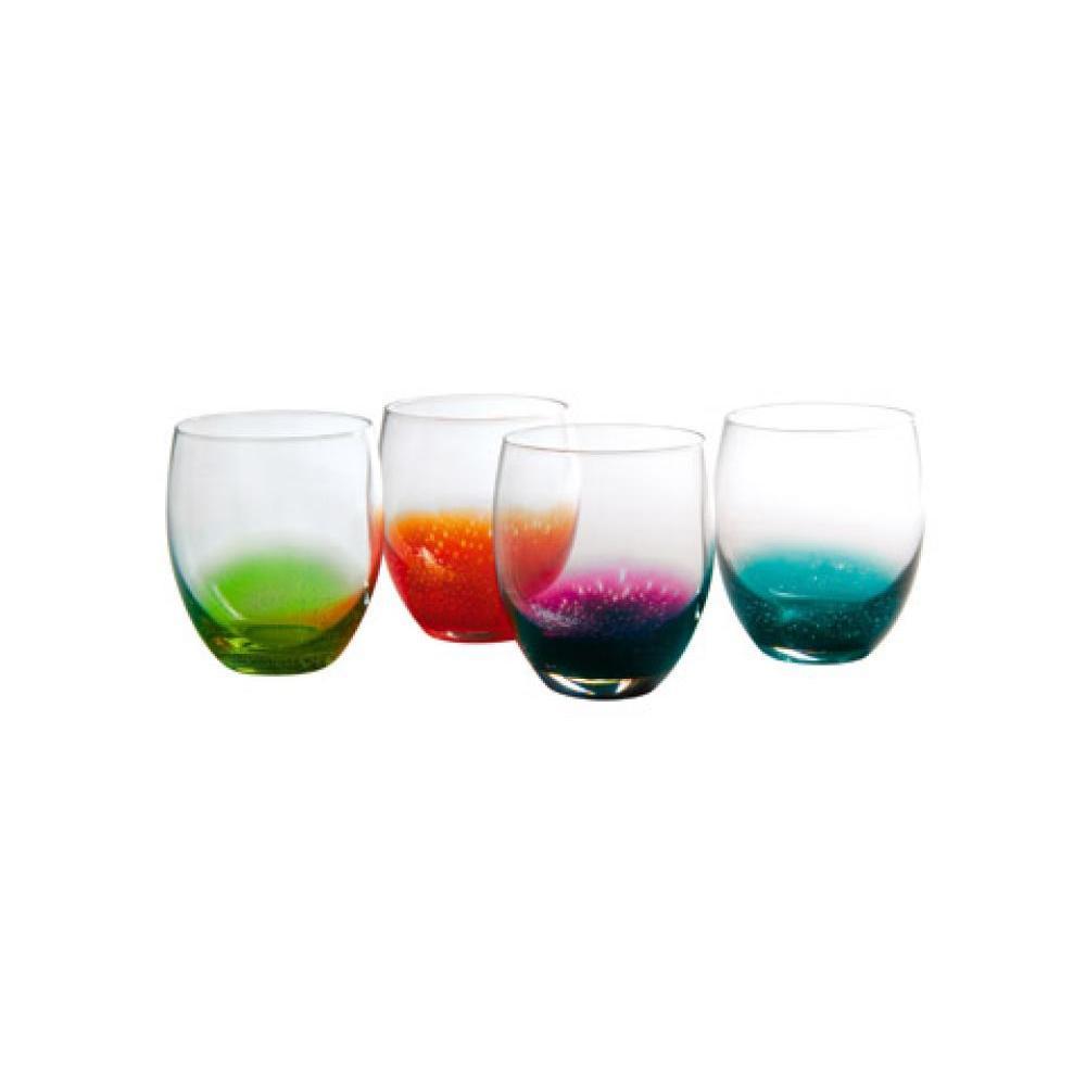 Fizzy shot glass assort color 3oz