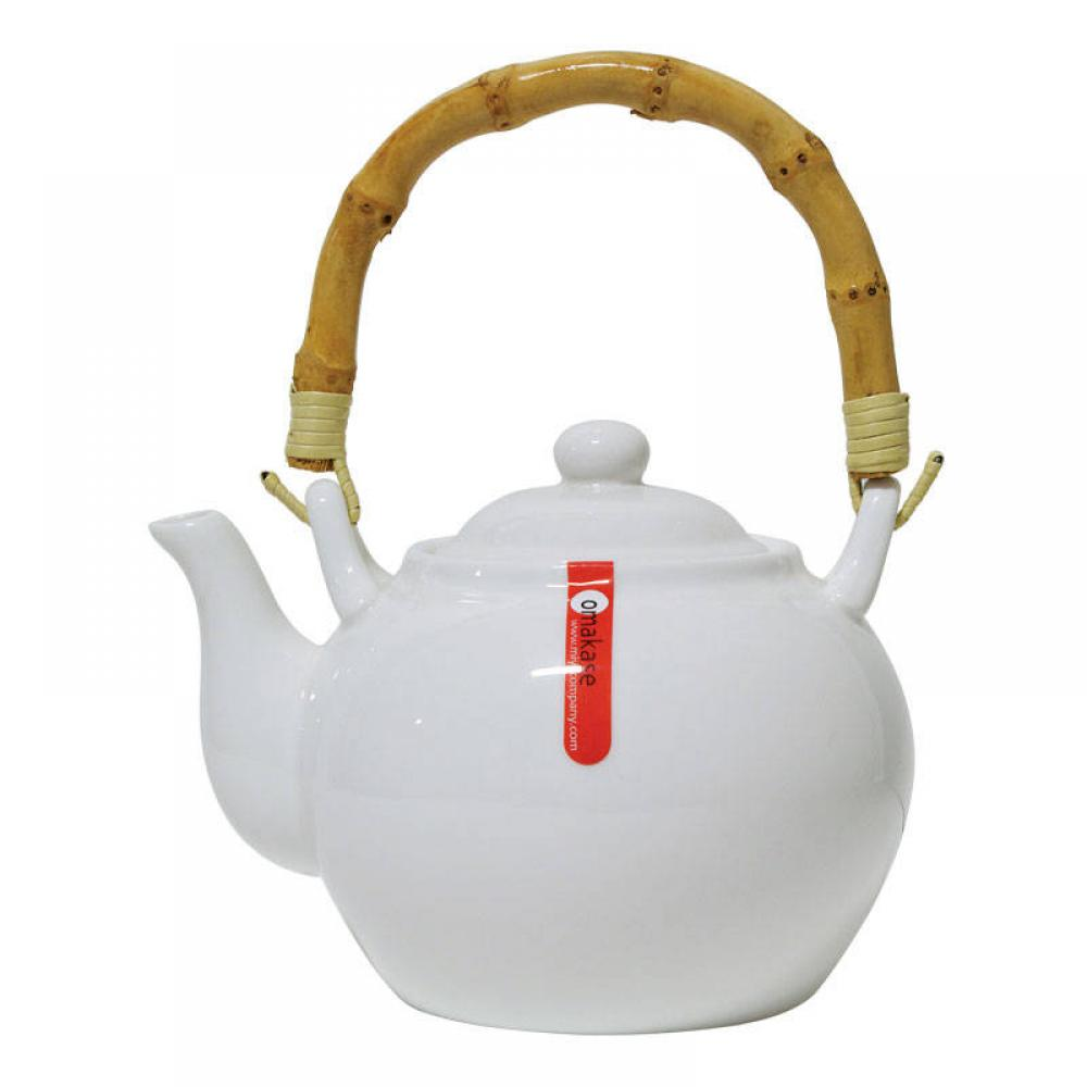 Teapot With Bamboo Handle - 24 Oz.