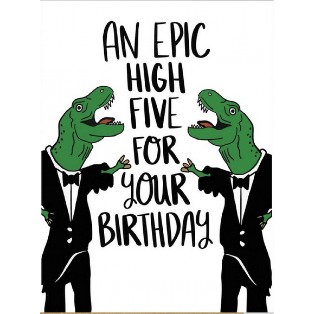 Birthday - Epic High Five