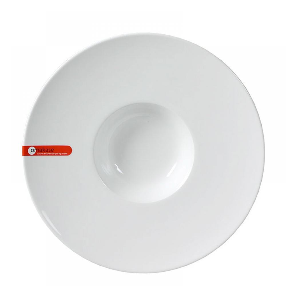 Dinnerware Omakase White Soup Plate 9.25in