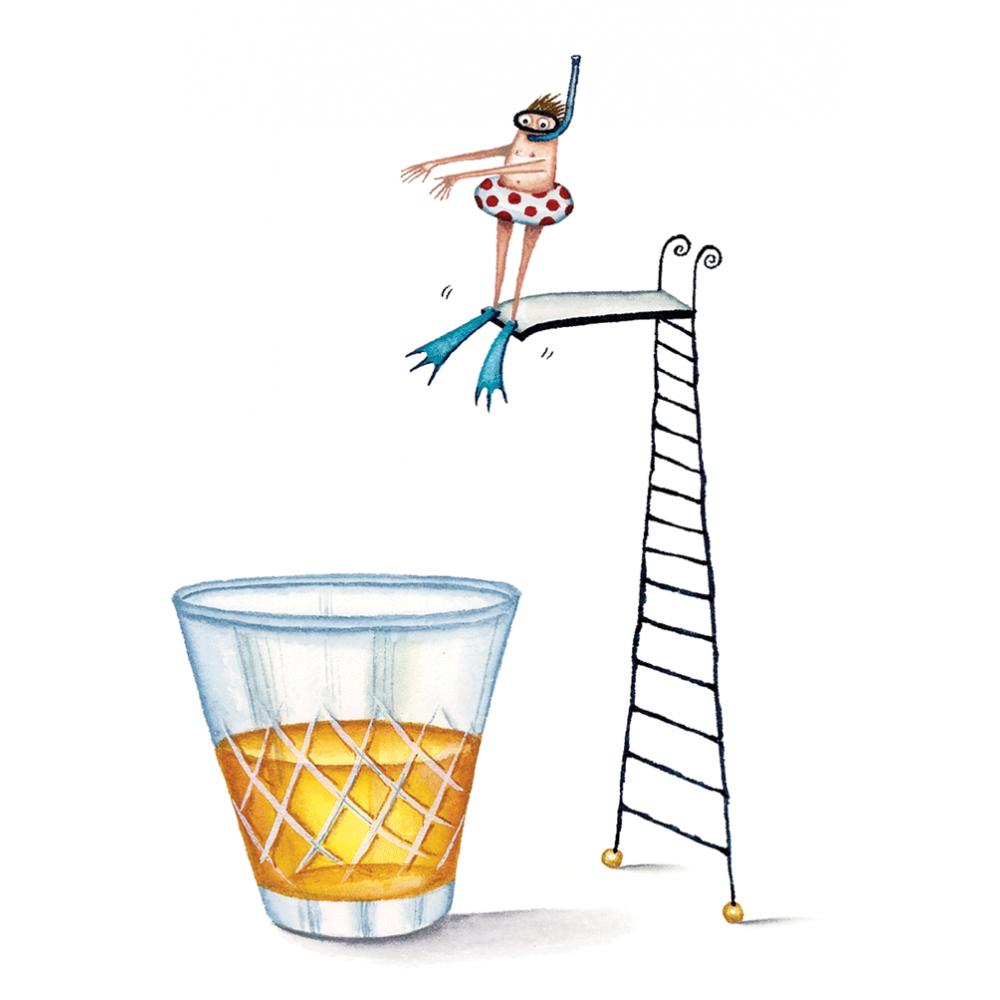 Birthday - Diving into Scotch
