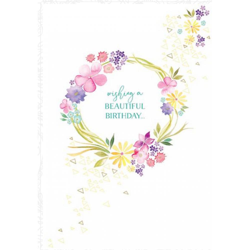 Birthday - Wreath