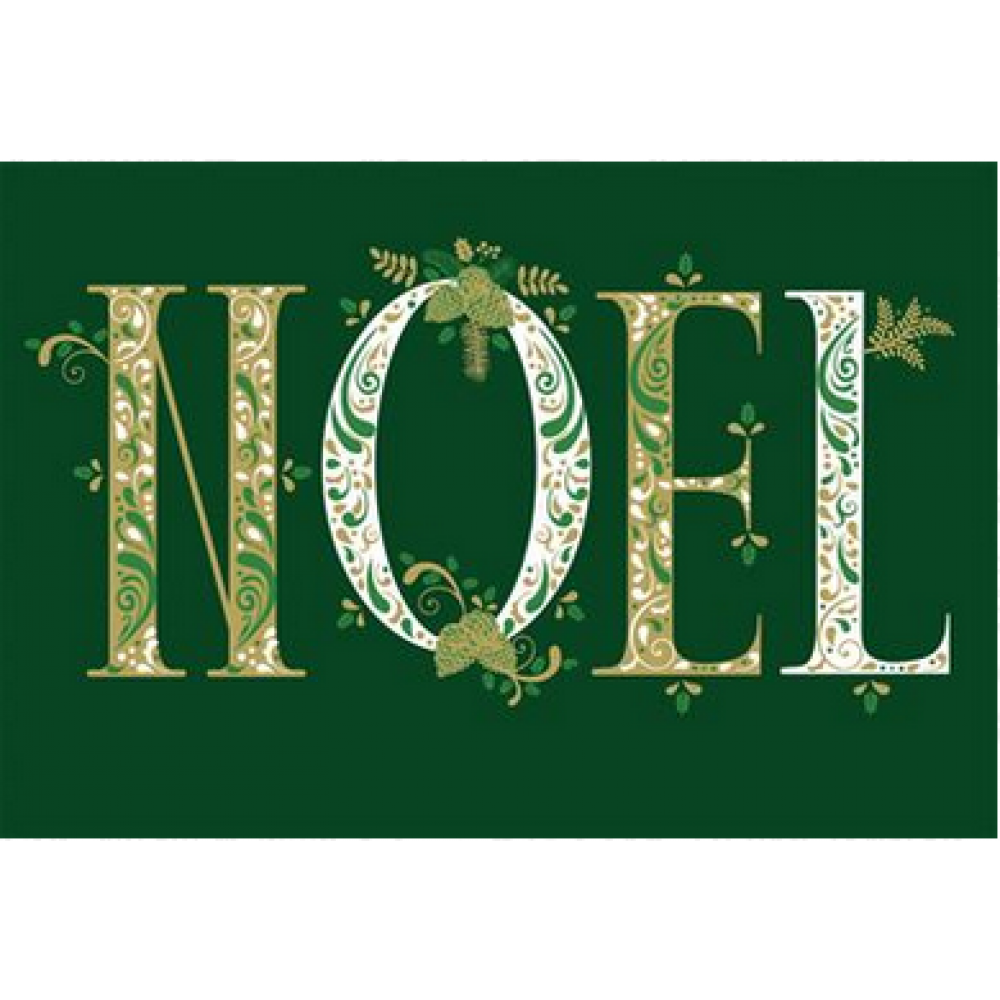 Christmas - Green and Gold Noel