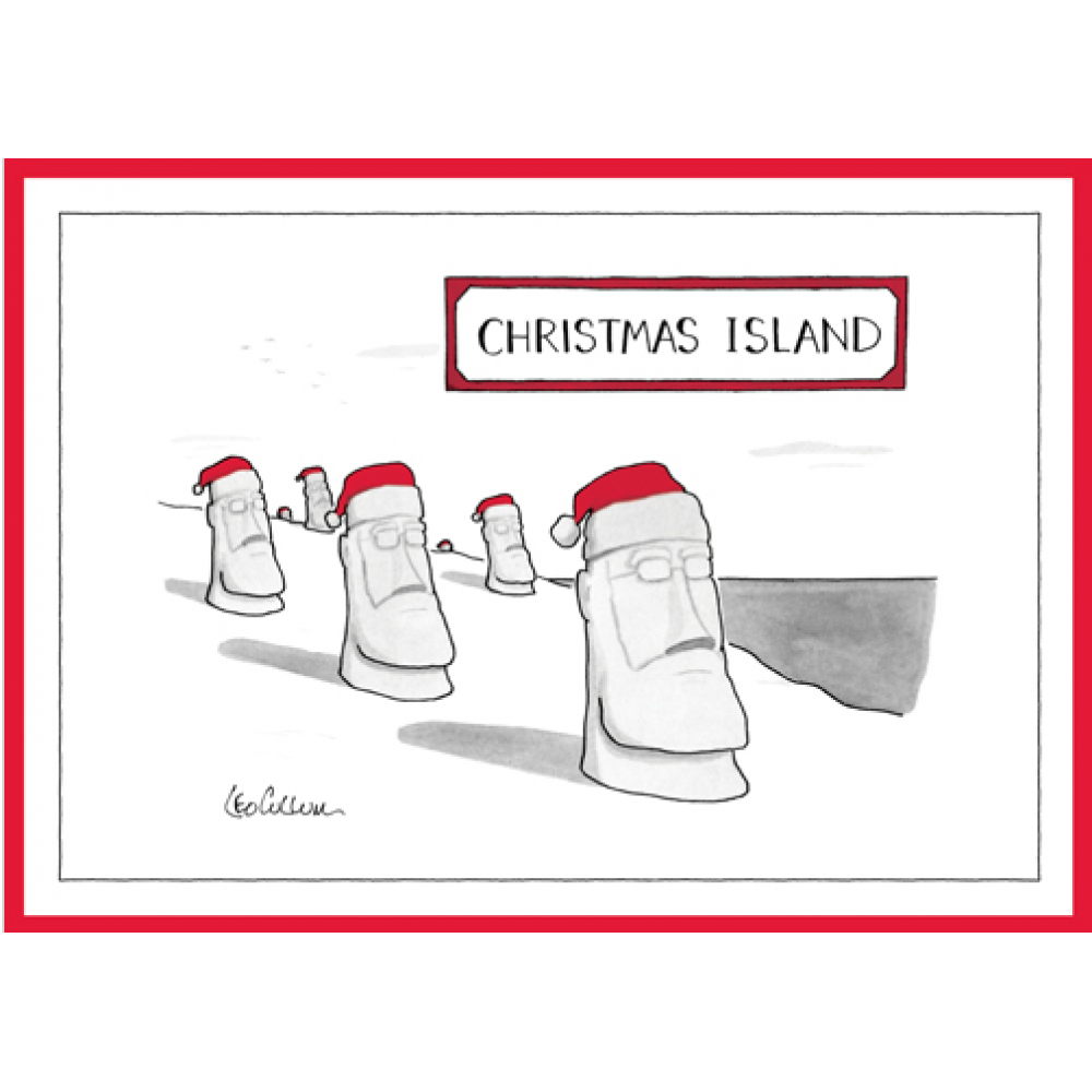 Christmas Card - New Yorker - Christmas Island