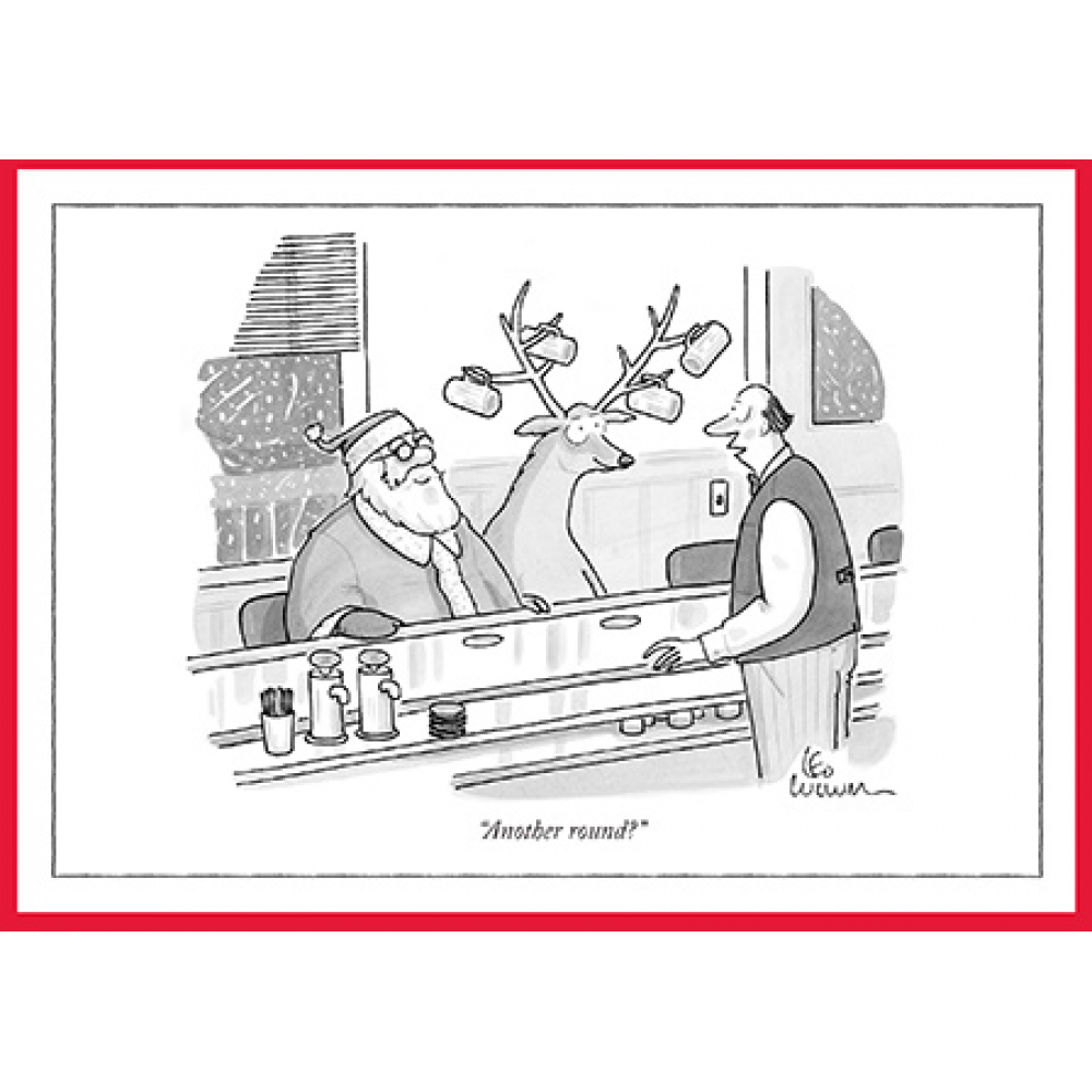 Christmas Card - New Yorker - Another Round